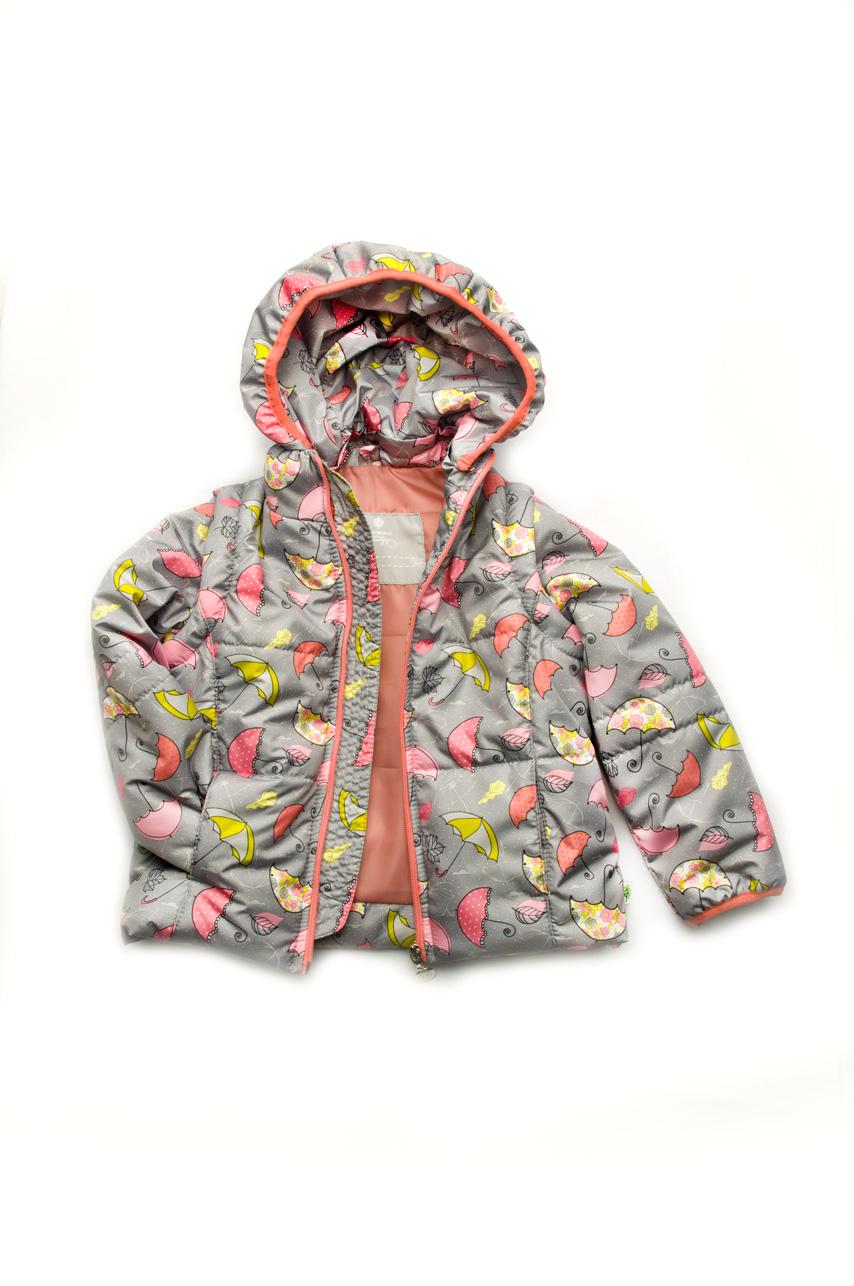 Детская куртка-жилетка девочка