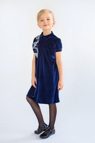 Платье бархат для девочки