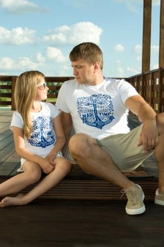 Мужская футболка Family look