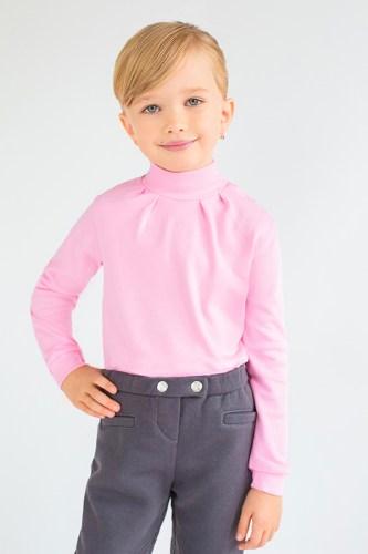 Розовый гольф для девочки
