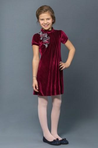 Платье для девочки бархат