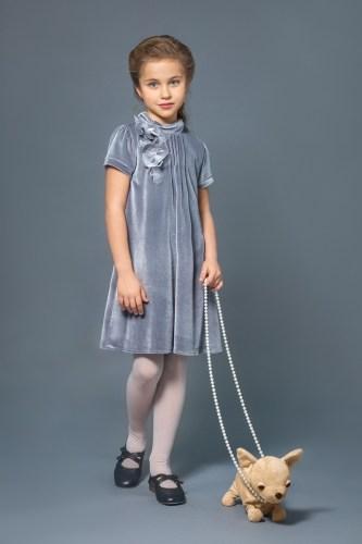Платья детские для девочек из бархата