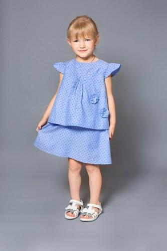 Платье деним детское