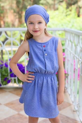 Платье для девочки дэним