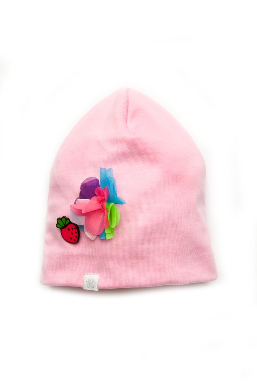 Детская шапка для девочки своими руками