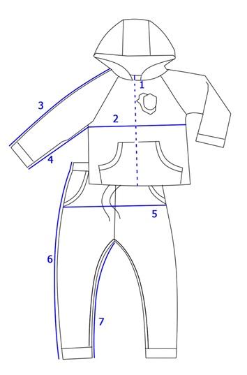 Кофта и штаны для мальчика